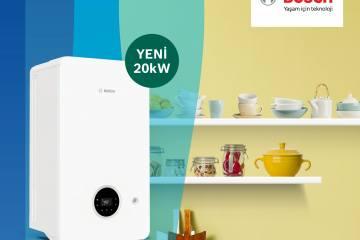 Bosch, 20 kW Kapasiteli Condens 2200i W Modelini Piyasaya Sundu