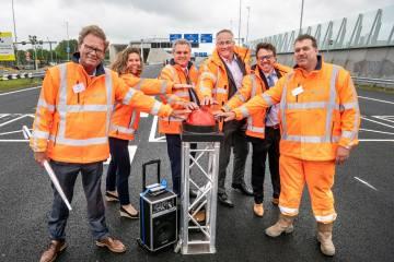 Hollanda'nın En Uzun Kara Tünelinin İki Kuzey Geçidi Açıldı