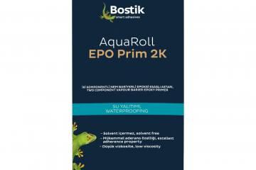 Yüzeyler Bostik Aquaroll EPO Prim 2K ile Artık Çok Daha Güçlü