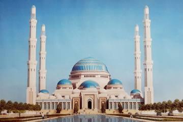 İntek, Orta Asya'nın En Büyük Cami Projesinde...