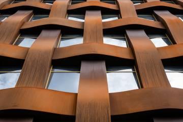 Ferrum 1 Binası, Aşınmaya Karşı Dirençli ve Son Derece Dayanıklı bir Çelik Malzeme ile Kaplı