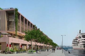 Galataport'ta COVİD-19 Nedeniyle İnşaata Ara Verildi