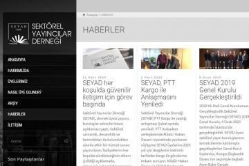 SEYAD, Yeni Web Sitesiyle Kullanıcı Dostu Bir Deneyim Sunuyor